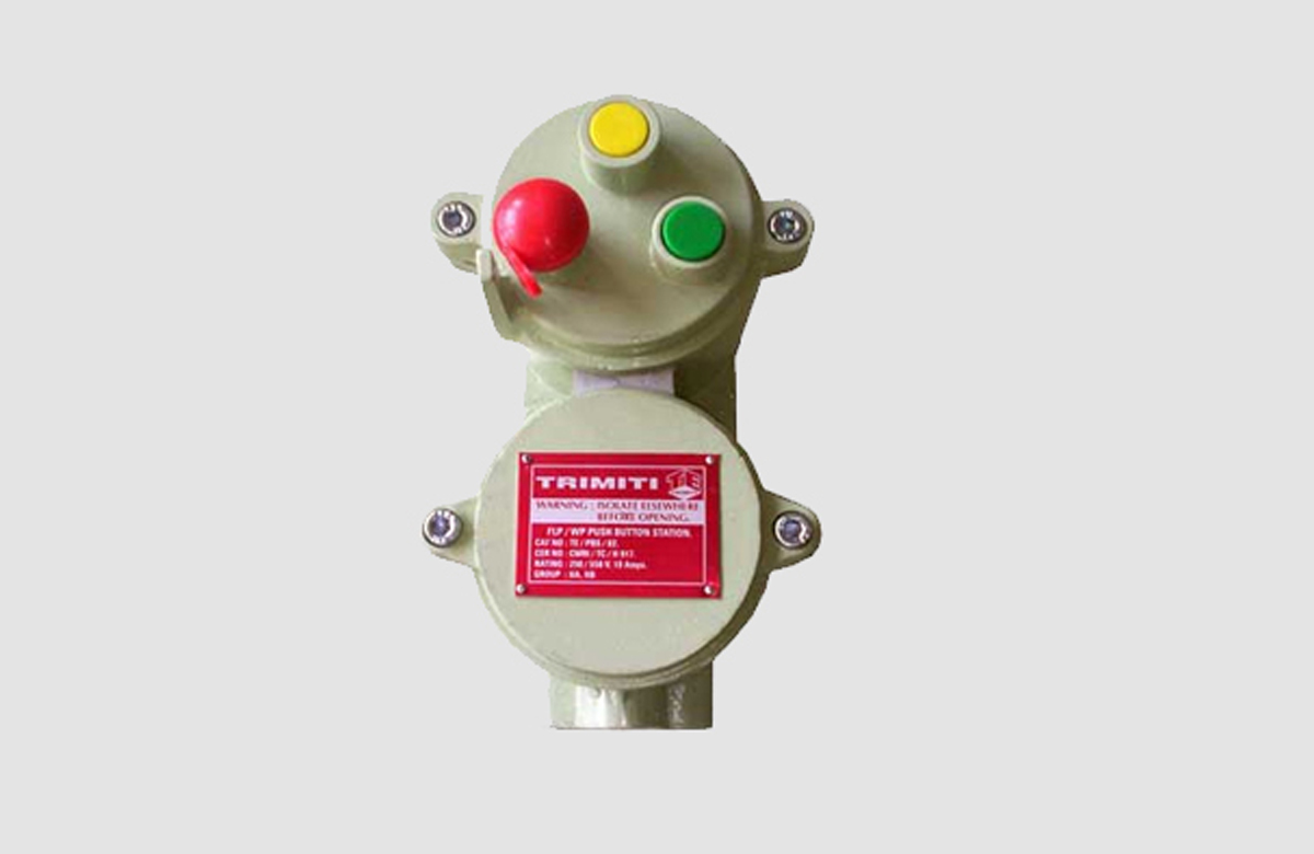 Flameproof Control Gears  Flameproof Push Button With